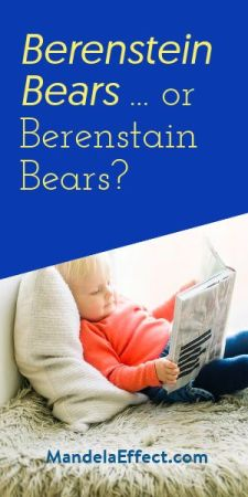 Berenstein Bears or Berenstain Bears?