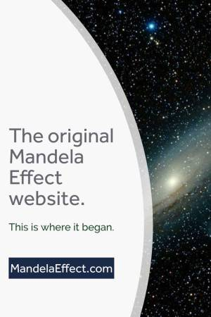 The original Mandela Effect website.
