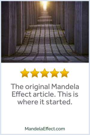 Original Mandela Effect article