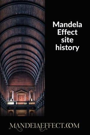 Mandela Effect site history