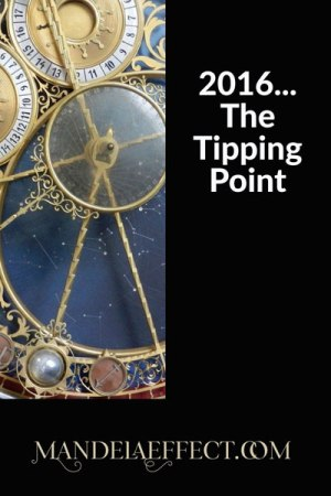 2016 Mandela Effect Tipping Point
